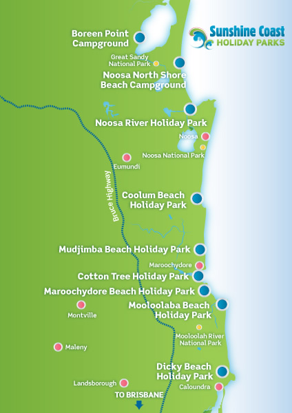 Luxury Caravan Hire - Sunshine Coast Holiday Parks