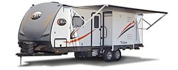 Luxury Caravan Hire - Quattro FB Layout